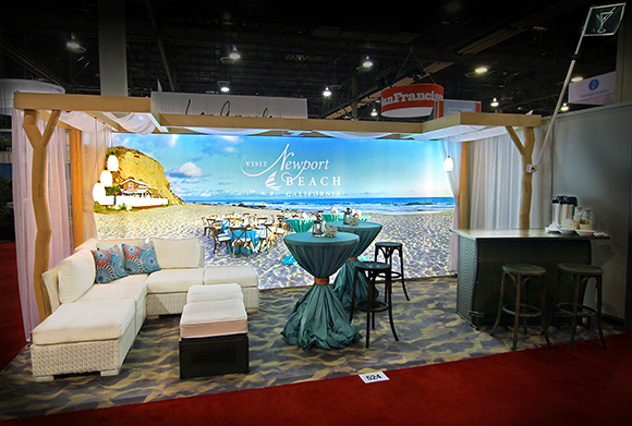 Conference Sales New Tradeshow Booth Generates Colossal